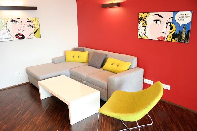 Interior Rumah Gaya Pop Art