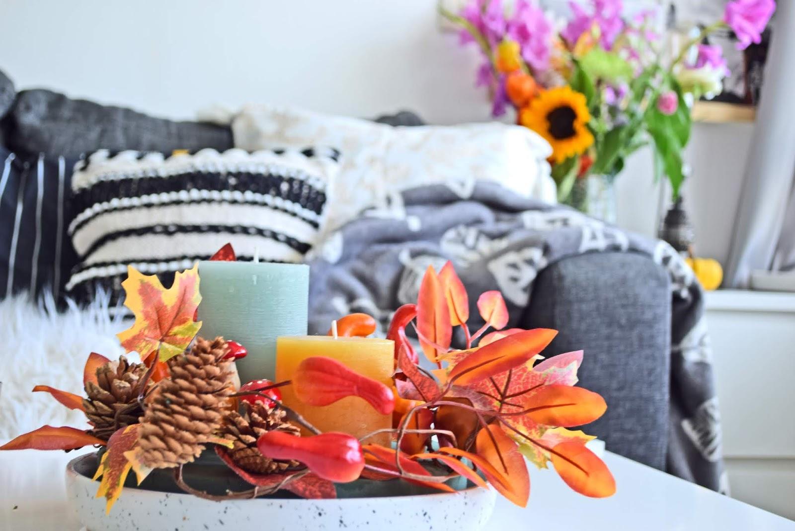 dekoracje jesień