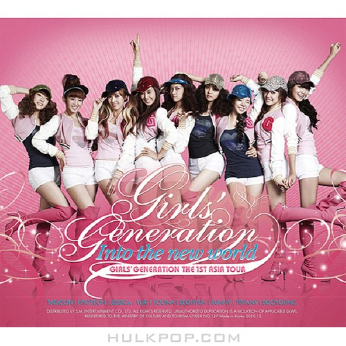 Girls' Generation – The 1st Asia Tour Concert – Into the New World (ITUNES PLUS AAC M4A)