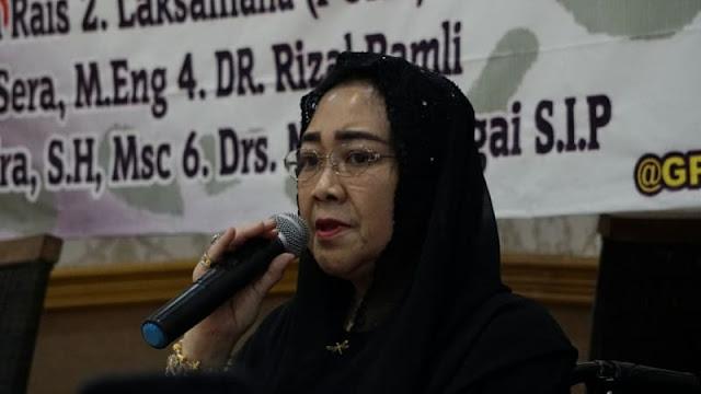 Rachmawati Ingin Berikan Aset Rp 1 T ke Prabowo untuk Hadapi Jokowi