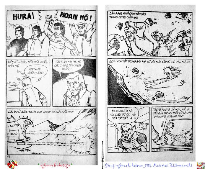 Dũng Sĩ Hesman tập 2 - hesman xuất hiện trang 24