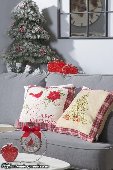 Рождественский дизайн интерьера. 20 фотографий (2)