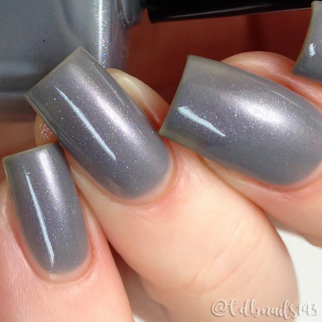 Dainty Digits Polish-Fiddy Shades of Gray