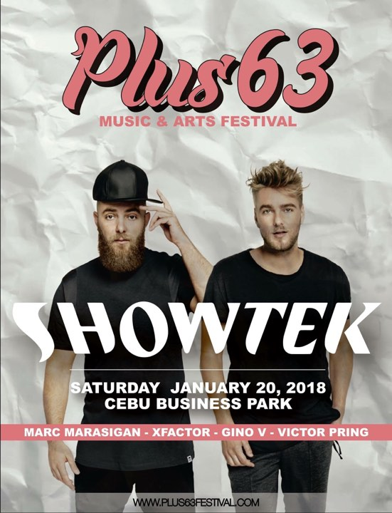 Plus Six Three Music & Arts Festival , Sinulog 2018
