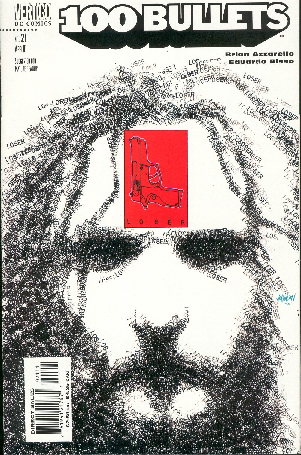 Read online 100 Bullets comic -  Issue #21 - 1