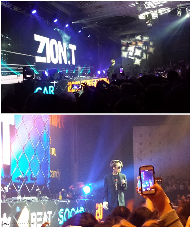 Zion.T at Rapbeat Show 2016