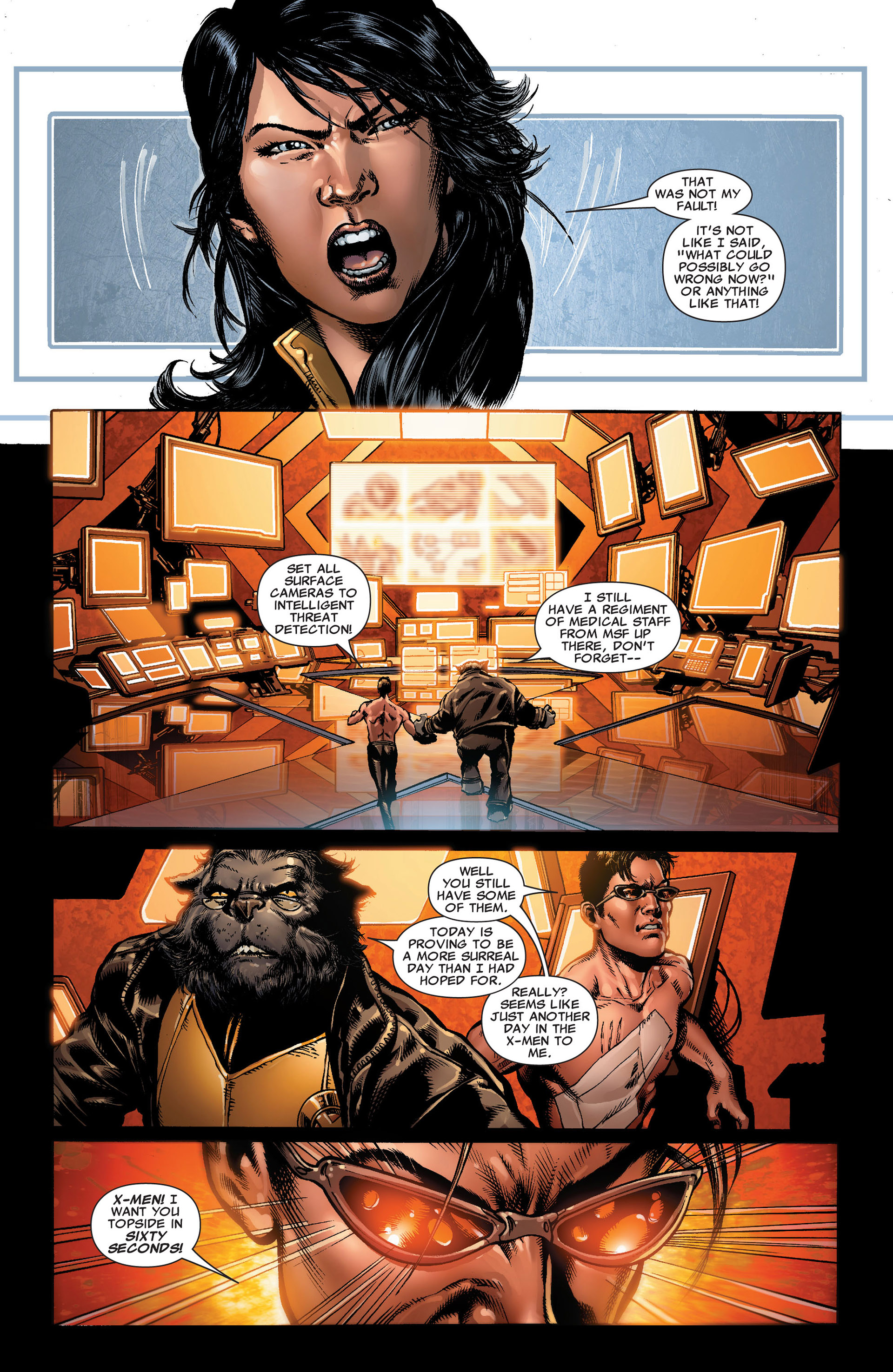 Read online Astonishing X-Men (2004) comic -  Issue #33 - 7