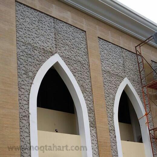 ornamen grc masjid