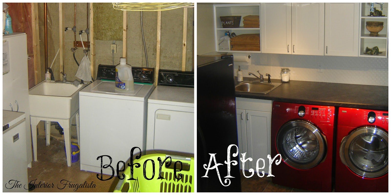 Touring Through Blogland Laundry Room Before and After
