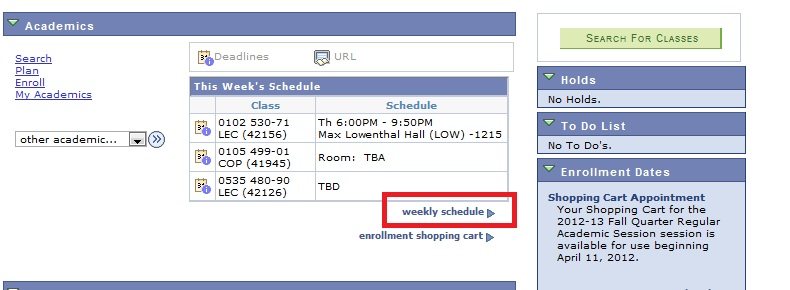 Rit Academic Calendar.Rit Sis How Do I Find My Schedule