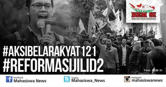 BEM Seluruh Indonesia Akan Gelar Aksi Unjuk Rasa Serentak 121