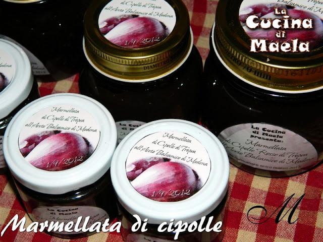 Marmellata di... cipolle all'aceto balsamico