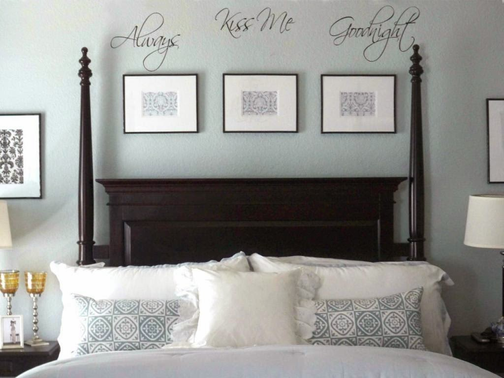 9 interesting interior design ideas and secrets of feng - Wall art above bed ...