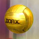金色のバレーボール