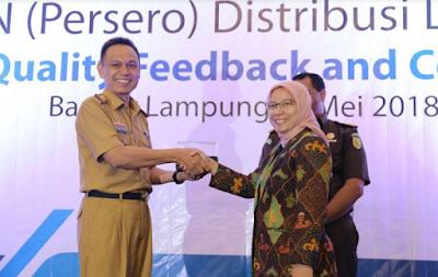 Pemprov Lampung Optimis Lampung Terang Tercapai 100 Persen Akhir Tahun