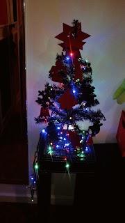 A nossa primeira Árvore de Natal