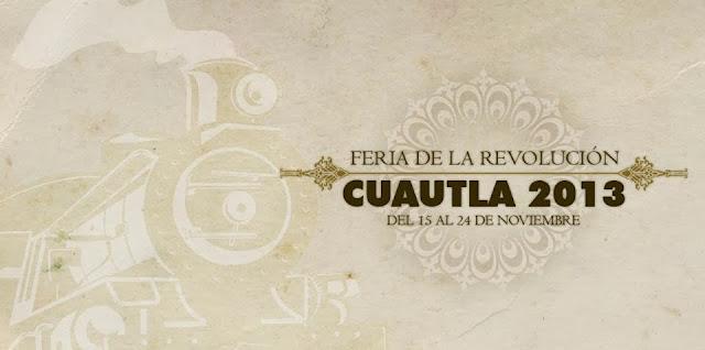Feria Cuautla 2013 programa