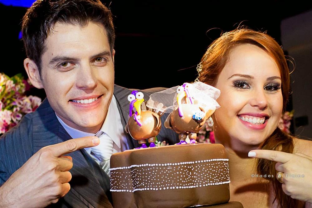 noivos - topo de bolo - bolo