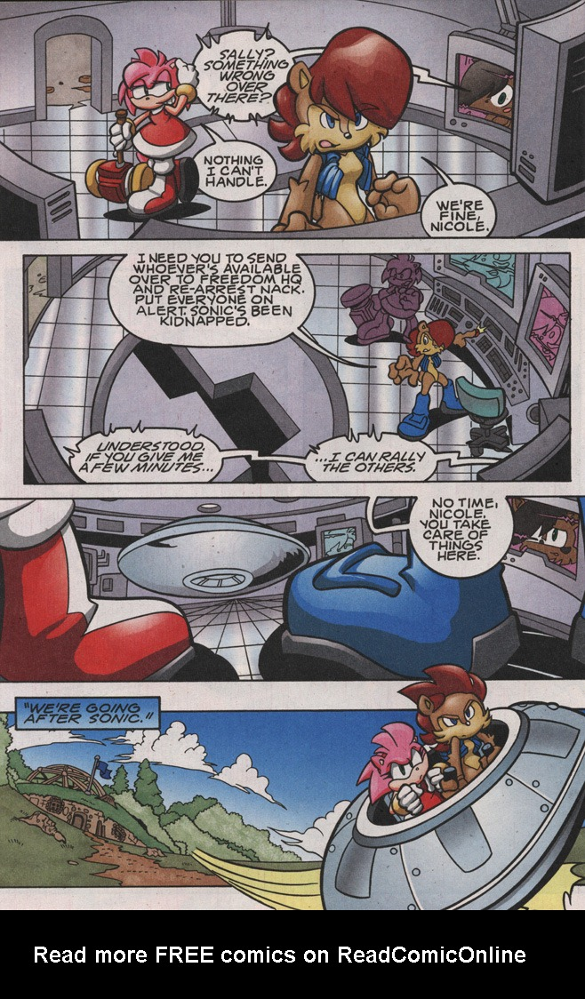 Read online Sonic The Hedgehog comic -  Issue #188 - 10