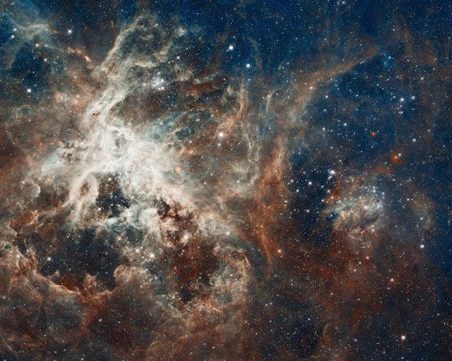 La estrella se convirtió en la nebulosa Calabash