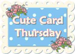Cute card thursday challenge
