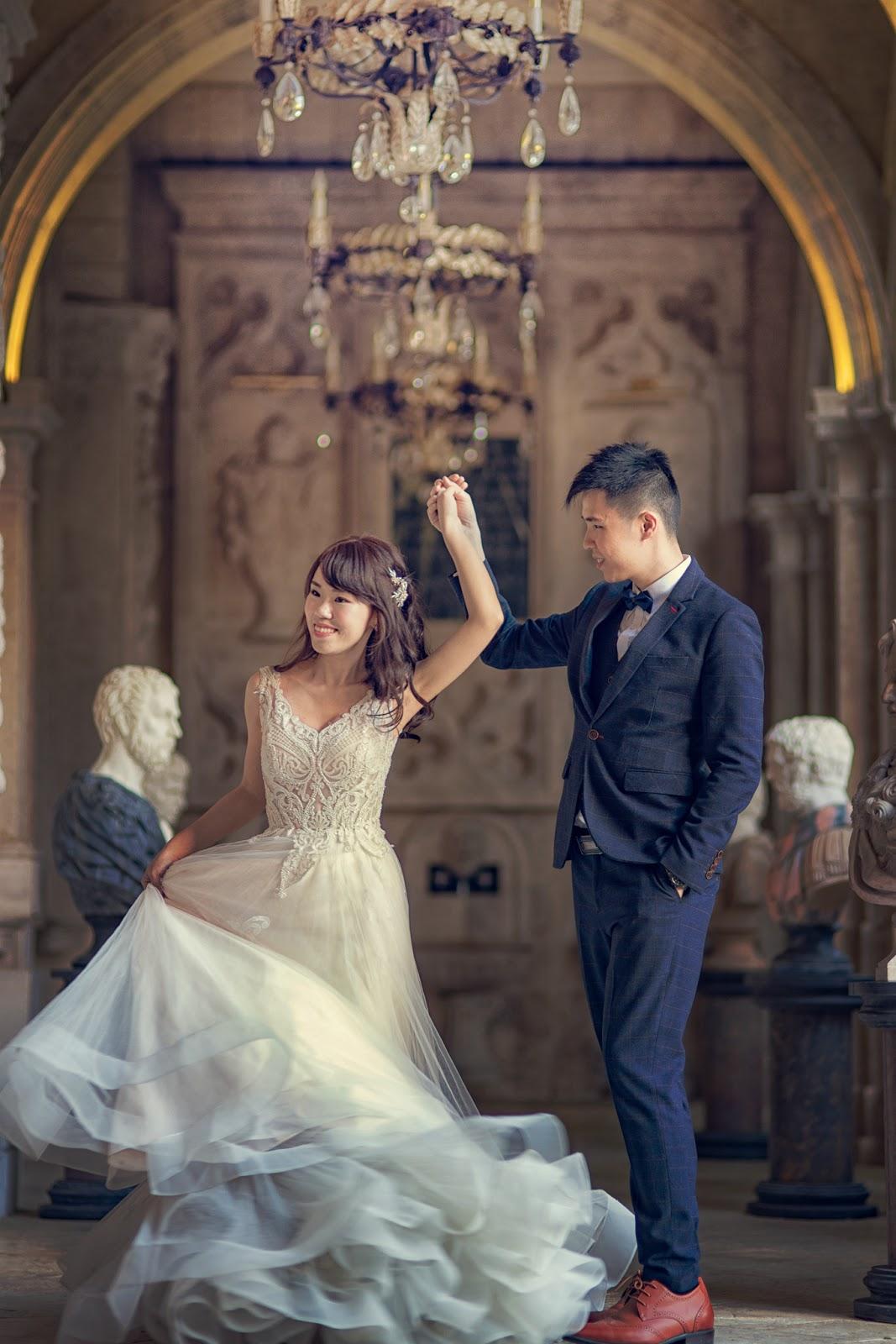[老英格蘭婚紗] 台北婚紗推薦 國內自助婚紗 歐洲巴黎風格 香港新人 布拉格遊玩 海外婚紗 城堡婚紗 白雪公主 超值婚紗 ptt結婚版