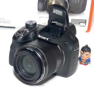 Kamera Sony DSC-H400 Fullset di Malang