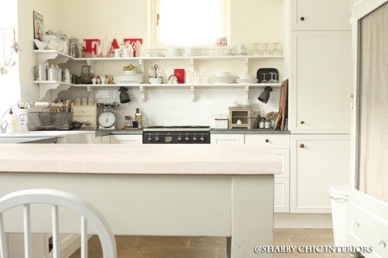 Il bancone della mia cucina shabby chic interiors - Banconi per negozi ikea ...
