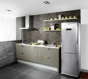 desain interior dapur kecil mungil minimalis sederhana