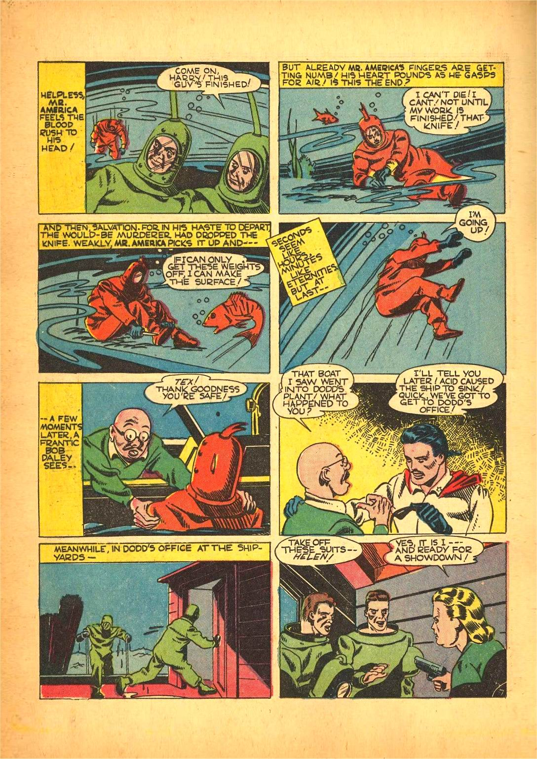 Read online Action Comics (1938) comic -  Issue #50 - 50