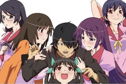 Urutan dan Cara menonton Anime Monogatari Series yang Benar