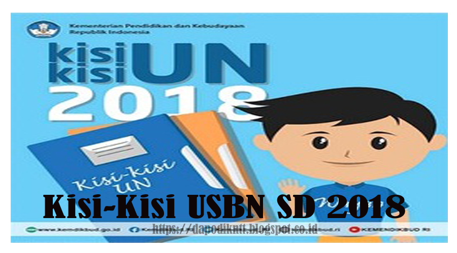 Download Kisi-Kisi USBN SD 2018
