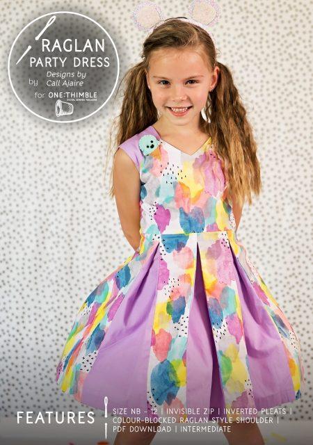The Raglan Party Dress by DbCA