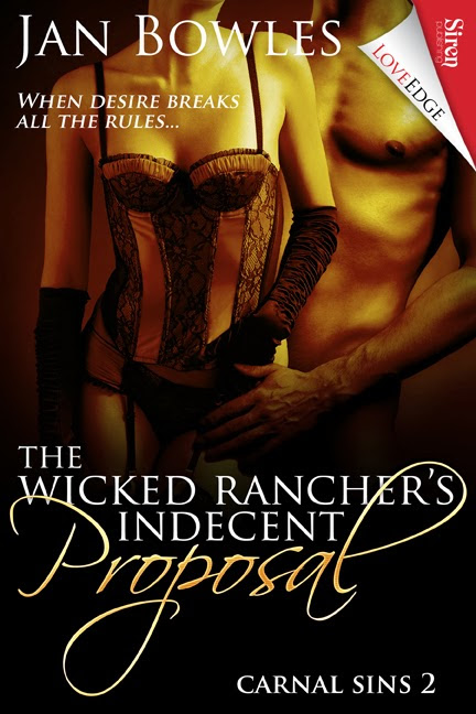 Jan Bowles: It's Release Day for The Wicked Rancher's Indecent Proposal