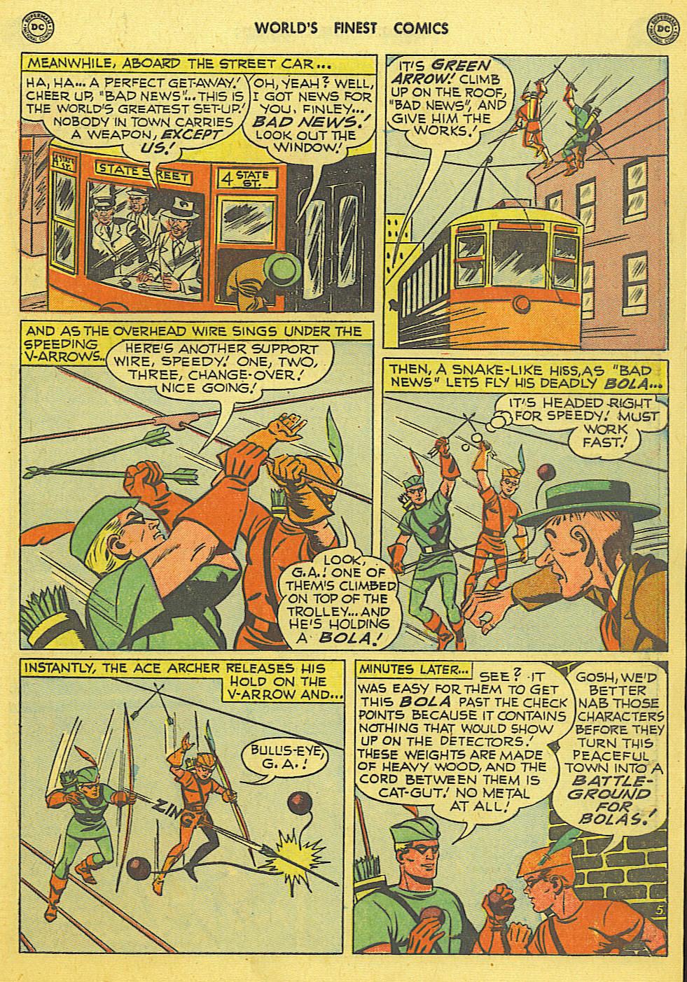 Read online World's Finest Comics comic -  Issue #49 - 22