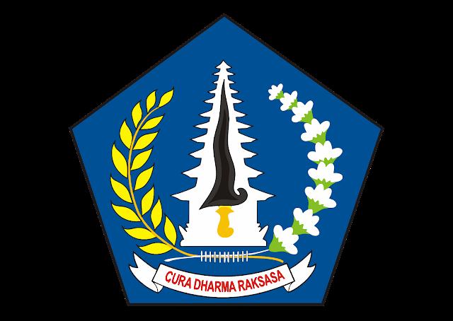 Logo Kabupaten Badung, Bali Vector