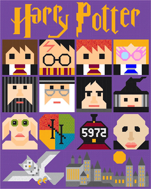 Harry Potter Quilt Along 2019 Introductory Post
