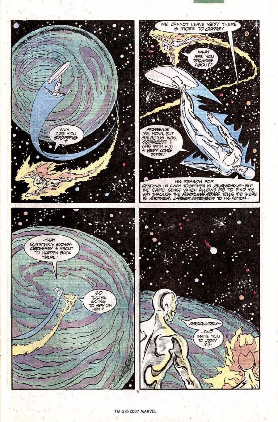 Read online Silver Surfer (1987) comic -  Issue #10 - 13