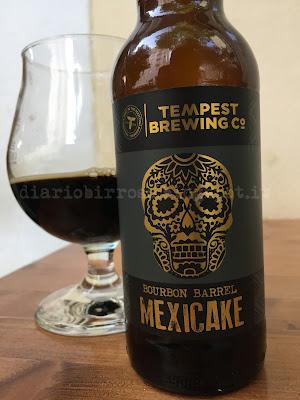 Tempest Bourbon Barrel Mexicake birra recensione diario birroso blog birra artigianale