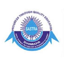 sastra university faculty career 2016