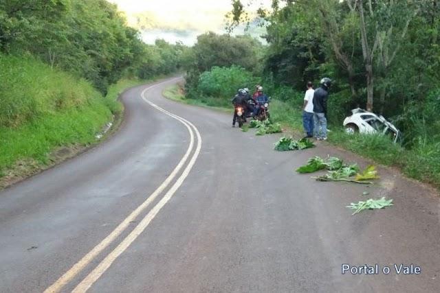 Acidente com vitima fatal em Campina da Lagoa