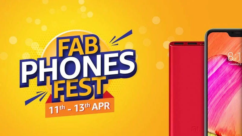 Amazon Fab Phones Fest Sale