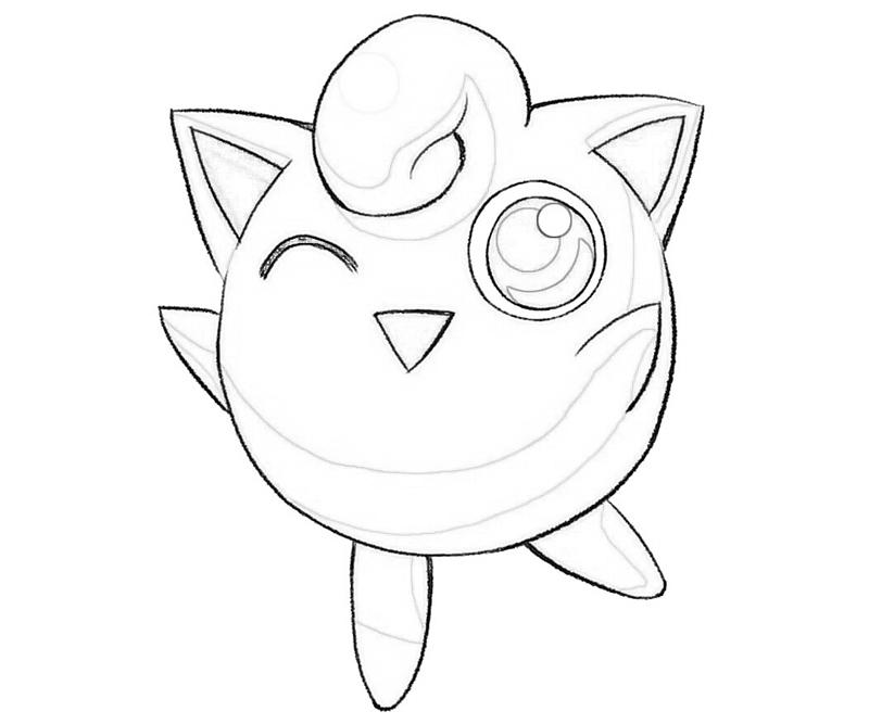 Jigglypuff funny jozztweet for Jigglypuff coloring page