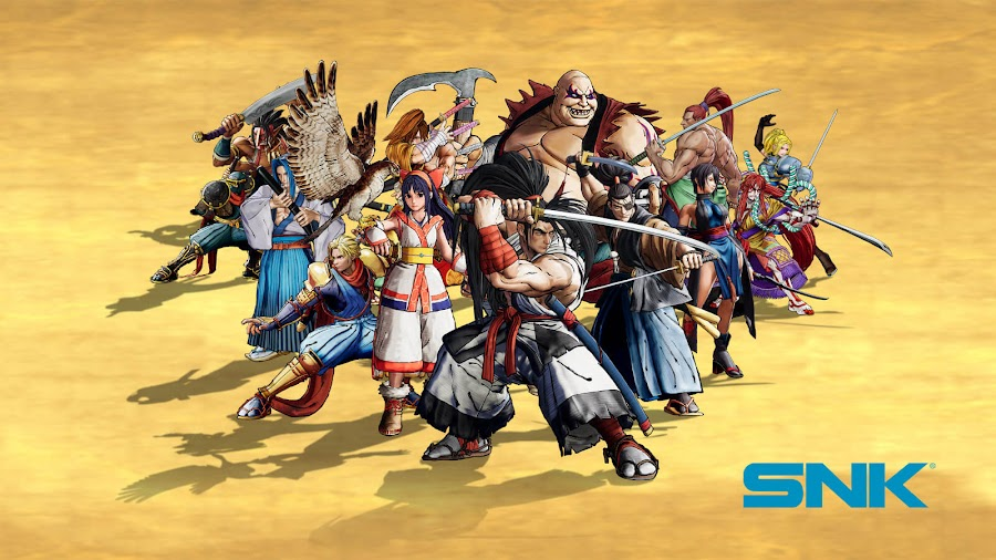 samurai shodown 2019 snk ps4 xb1 switch pc