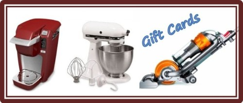 Embracing A Healthy Family Gift Cards Keurig Kitchenaid Mixer