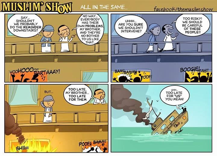 The Muslim' Show : Komik Dakwah dari Perancis