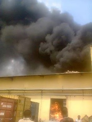 Fire breaks out at Dangote's spgaetti factory