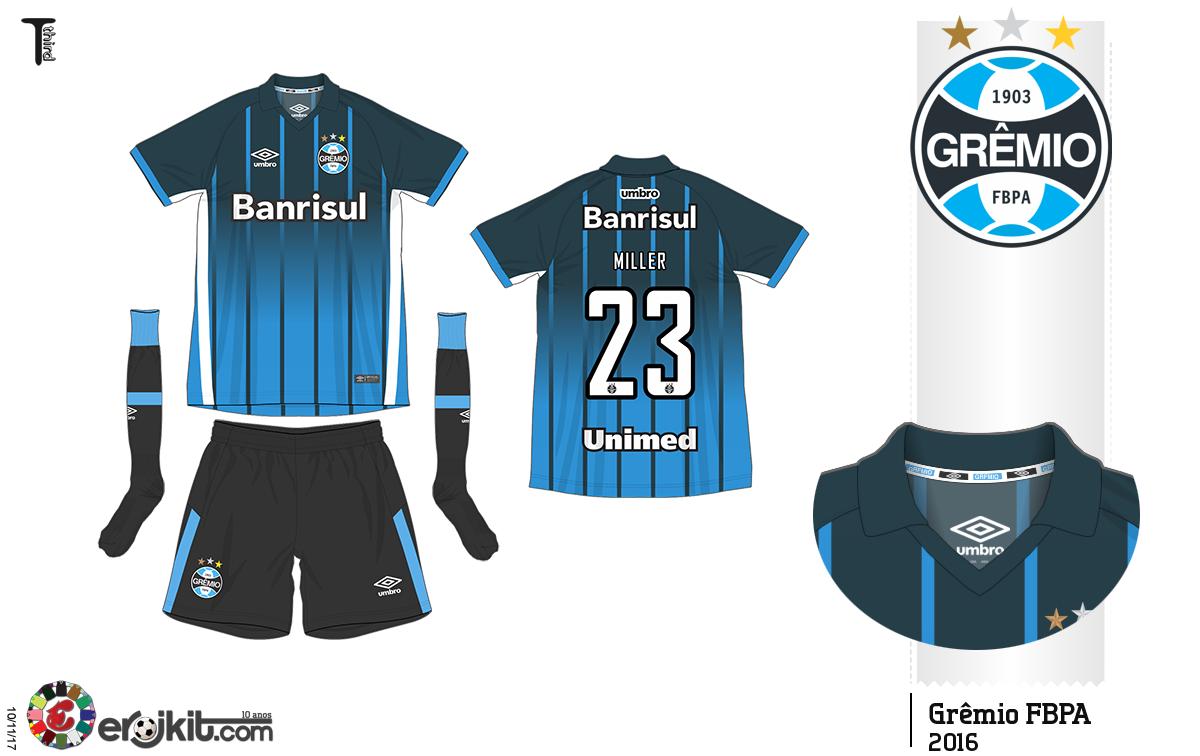 ffcb14fd69 Camisa do Grêmio