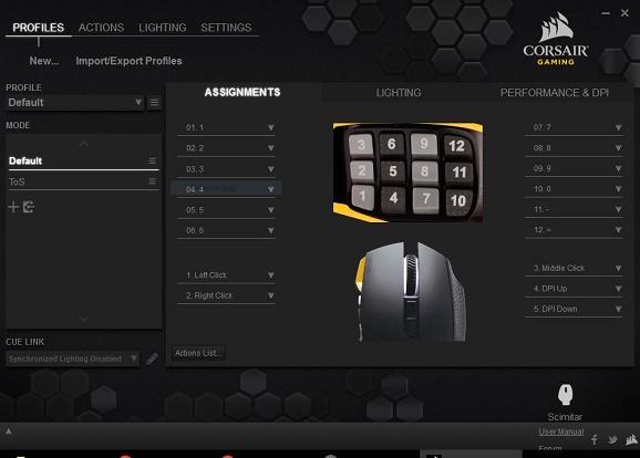 Review Mouse Gaming Corsair Scimitar MMO dan MOBA Super Keren