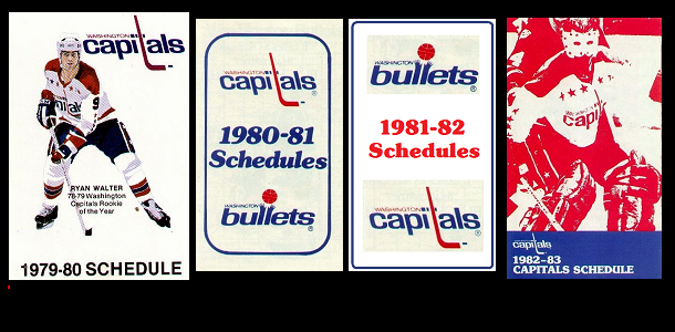 POCKET SCHEDULES: 1979-1982
